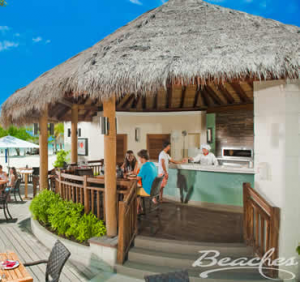 Book a wonderful stay thru Wetzstein Travel at beautiful Beaches and Sandals resorts when traveling.